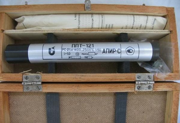 Комплектация радиационных пирометров.