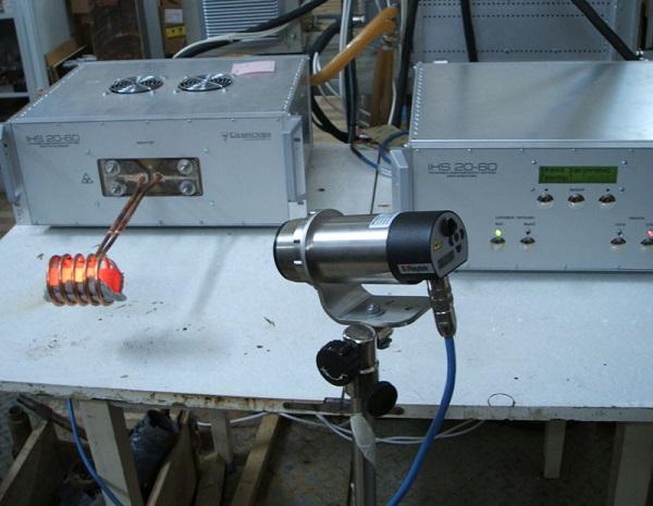 Применение радиационного пирометра.